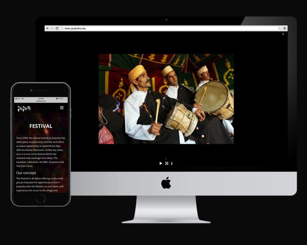 Digital design and development for the Master Musicians of Joujouka